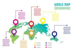 World Infographic vector