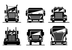 vettore logo camion