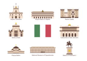 Napoli Icons Vector