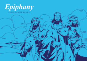 Free Hand Drawn Epiphany Vectors