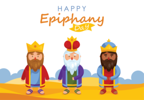 Epiphany Vector Illustration