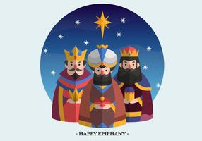 Epiphany Vector Character Illustration