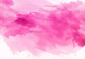 Free Vector Pink Watercolor Background
