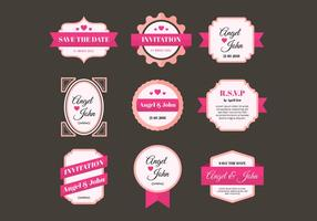 Gratis Wedding Frames Vector