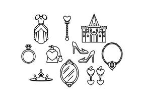 Gratis Princesa Icon Vector