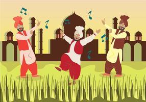 Bhangra Dance in Savana