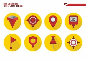 You Are Here Vector Icon