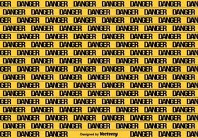 Vector Yellow Danger Tape Seamless Background