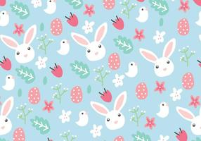 Floral Easter Background