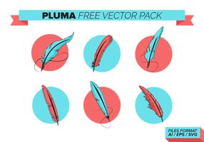 Pluma Gratis Vector Pack