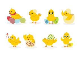 Pintainho de easter Vectors
