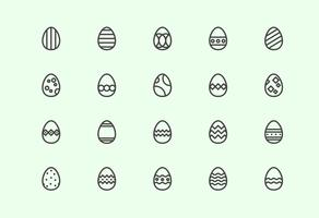Gratis Easter Eggs vectoren
