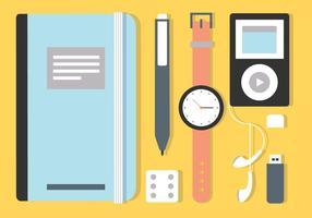Elementi vettoriali desktop Designer gratuiti