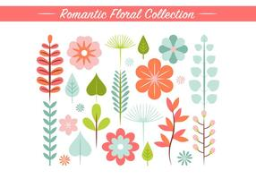 Spring Flower Vector Elements