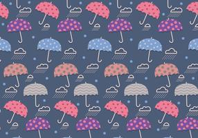 Monsoon Pattern Cute Vector