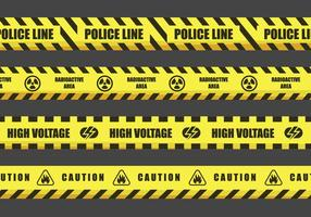 Danger Tape Vector Designs