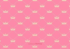 Vector Princess Crown Pattern