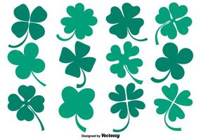 Vector Collection Of Flat Clover Ikoner