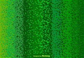 Vector Green Tiled Background