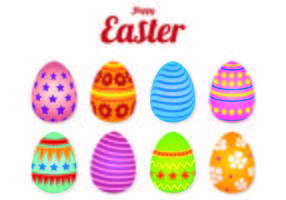 Iconen Van Easter Eggs