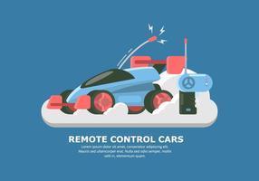 Vector futurista del coche de RC