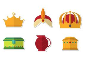 Epiphany Crown Vector Set