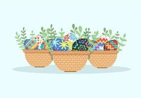Easter Egg Collection Vector