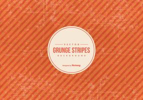 Orange Grunge Stripes Background vector