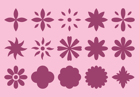 Flower Blossom Icon vector