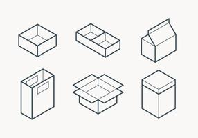 Packaging Outline Icon