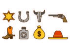 Vetor Gaucho Icons
