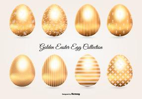 Golden Easter Egg Collection