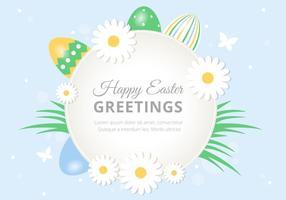 Antecedentes libre de Pascua vacaciones vector