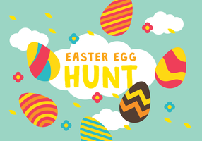Easter Egg Hunt Wallpaper