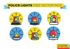 Polis Lights Gratis Vector Pack