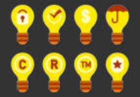 Icono de los derechos de autor