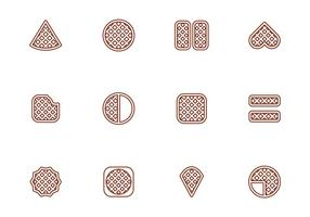 Vector Gratis Wafels Illustration