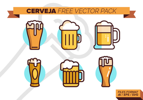 pacchetto di vettore gratuito cerveja