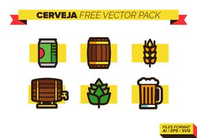 Cerveja grátis Pacote Vector