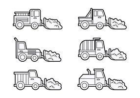 Free Outstanding Snow Plow Vectors