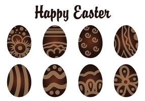 Decoratieve Chocolate Easter Eggs