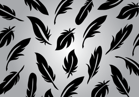 Pluma Vector Background