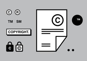Copyright vettoriale