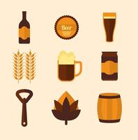 Free Beer-Vektor-Icons