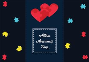 Autismus Awareness Day Vector Art