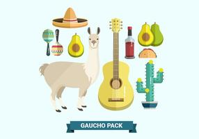 Gaucho Pack Vector Collectie