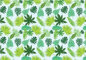 Free Exotic Leaves Pattern Vectors