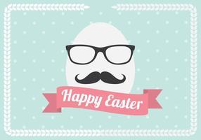 Hipster, huevo, vector