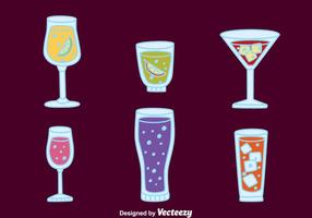 Fizz Drink Cocktail Vectors