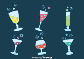 Fizz Drink Party Vecteurs